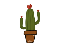 """Kind Cocktus"", vector"