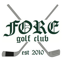 Logo design for FORE Golf Club