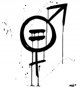 """""""Equality"""", ink cropped"""