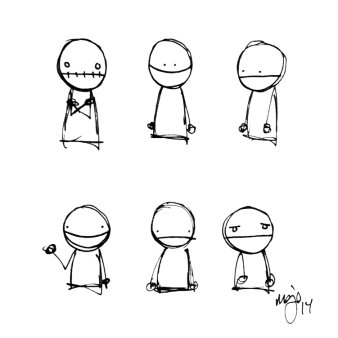 """Moods"", pen"